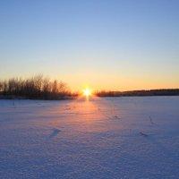 Закат 2 января :: Евгений Карелин