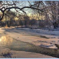 Зимний пейзаж :: Сергей Ефименко