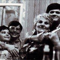 С любимой тёщей. 1985 год :: Нина Корешкова