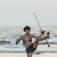 Отработка приёмов боевых искусств :: Виктор Куприянов