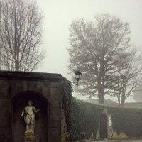 Туманная Читта Альта. Бергамо. Италия :: Анна Авантажная