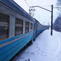 Экскурсия в Гадюкино зимой. Начало. (1) :: Александр Резуненко