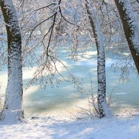 Солнечный лёд :: Марина Кит