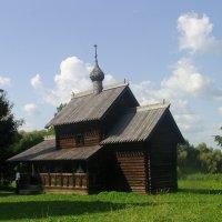 Церковь Успения из деревни Никулино Любытинского района. 1599 год :: Виктор Мухин