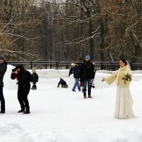 Ждёт невеста жениха... :: Владимир Болдырев