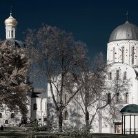 Борисоглебский собор и Коллегиум :: Андрий Майковский