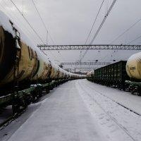 На станции :: Дмитрий Коноплев