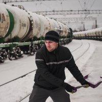 После снегопада на ЖД :: Дмитрий Коноплев
