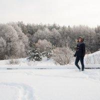 Зимний портрет :: Витя Ярмолинский