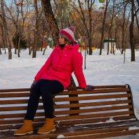 На скамейке :: Света Кондрашова