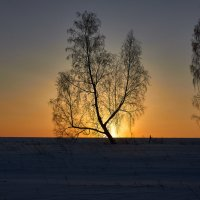 Утро начинается с рассвета... :: Николай Мальцев