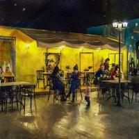 И прошлое всё ближе, ближе. Вот то кафе – воспоминания мои. :: Ирина Данилова