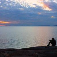 Закат, о. Кий, Белое море :: Nikolay Zinoviev