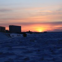 Синее Белое море :: Надежда Кунилова