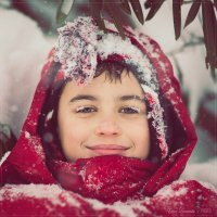 Такого снегопада,такого снегопада... :: Елена Леневенко