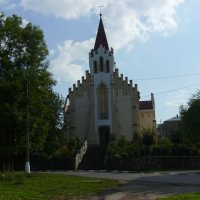 Храм  Святого  Валентина  в  Калуше :: Андрей  Васильевич Коляскин