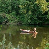 На лодке. :: Андрий Майковский