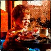 Мальчик в кафе :: Станислав Лебединский
