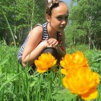 среди цветов . :: николай баулин