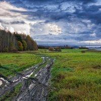 Под октябрьским небом :: Евгений Плетнев