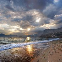 вечерний берег моря и небес :: viton
