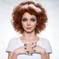 Портрет для конкурса выпускников школы макияжа :: Robert Criptonix