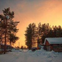 Закат в Усть-Ухте :: aka valentinych