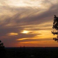 закат над городом К :: Анна Троянова