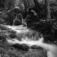 Плитвицкие озера, Хорватия. Ч/б пленка :: Евгений Мусияченко