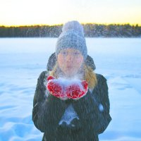 Я и снег :: Юлия Сергеевна