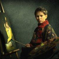 Молодой художник :: Сергей Гайлит