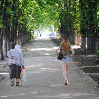 Есть только миг между прошлым и будущим... :: Сергей Ляшенко