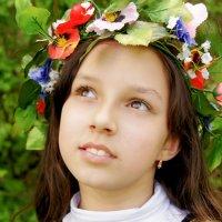 В саду гуляла :: Анна Ванюкова