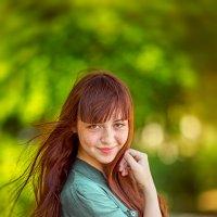 ...о той девушке, которую любит солнце... :: Валерий Худушин