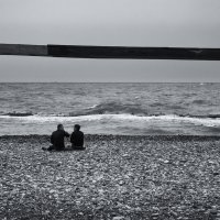 Люди у моря (из серии) :: Евгений Плетнев
