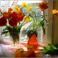 Букетики весны :: galina tihonova