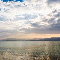 Мёртвое море,рассвет,сидим,наблюдаем :: Lev Tovbin