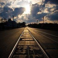 А впереди тлеет закат :: Владимир Топунов