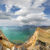 прибрежные скалы Киммерии :: viton