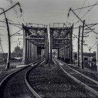 Иркутск, ж/д мост :: Алёна Бодрова