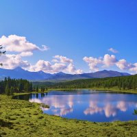 Уланкойские озёра :: юрий Амосов