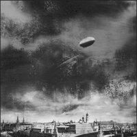Цеппелин над городом :: Наталья Rosenwasser