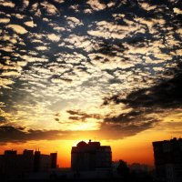 Перистые облака :: Андрей Мингазов