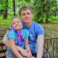 Папа с дочкой :: Ira Saraewa