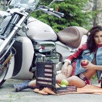 Picnic with Valkyrie :: Alexey Guskov