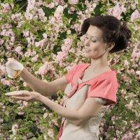 Сакура, чай и ванильное настроение :: Антон Летов