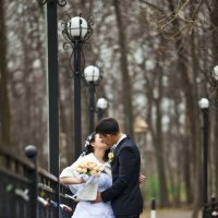 Свадьба в Елабужском парке. :: Ринат Махмутов