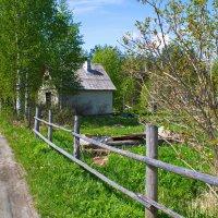 домик в деревне :: татьяна якухина