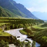 Дорога через горы. :: юрий Амосов