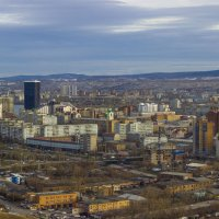 Город Красноярск :: Сергей Щербинин